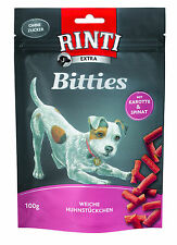 Rinti Extra-Snack Bitties - Mini-Bits with Carrot & Spinach 100 G