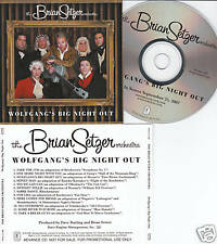 Brian Setzer - Wolfgang's Big ... USA Advance Promo CD