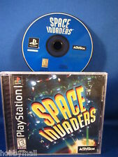 PlayStation PS1 Space Invaders Complete Video Game