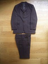 abito uomo Oliver Look vestito giacca marrone cotone mens tailored suit italy