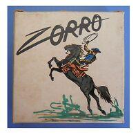 """Zorro, """"Fine di un tiranno"""", film super 8 colore muto 3 min (15 metri)"""