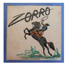 """Zorro, """"Il tradimento"""", film super 8 colore muto 3 min (15 metri)"""