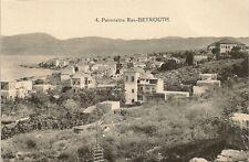 CARTE POSTALE LIBAN PANORAMA RAS - BEYROUTH