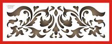 Mr Stencil Maler Wandschablone  Schablone Historisches Ornament  Blume 5