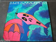 "alien sex fiend   hurricane fighter plane  1987 uk anagram label  12"" ex ex"