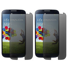 2X Privacy Filter Screen Guard Protector Film For Samsung Galaxy S4 SIV i9500