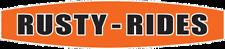 RUSTY RIDES sticker vw hotrod ratlook hood corsa saxo 180mm