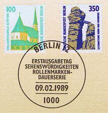 Berlin 1989: Externsteine Horn und Kapelle Altöttingen Nr. 834 und 835! 1A! 155