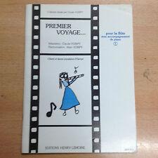 partition méthode Premier Voyage pour la Flûte & Piano volume 1