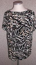 Ambria Longshirt Damenshirt Gr. 48 Leopardenmuster  X