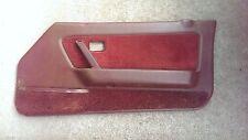 Door Panel interior card power passenger right red burgundy Mazda rx7 1984 1985