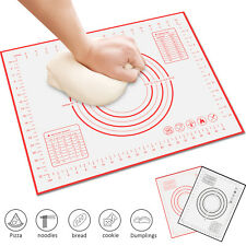 Large Silicone Non-stick Kneading Rolling Dough Mat Clay Cake Pastry Baking Pad