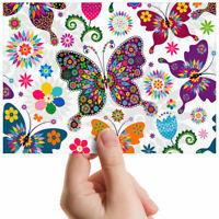 "Pretty Colourful Butterflies Small Photograph 6"" x 4"" Art Print Photo Gift #2426"