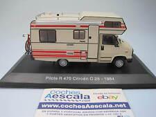 Camping Car Hachette 1/43 Citroen C25 Capucine Pilote R470 C 25 R 470 Camper ixo