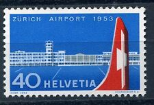 Switzerland 1953 Zurich airport stamp unmounted mint