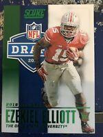 2016 Score NFL #4 Ezekiel Elliott Emerald Draft
