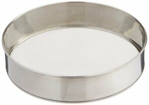 Radanya Stainless Steel 10.25 Inch Fine Mesh Flour Sifter For Kitchen