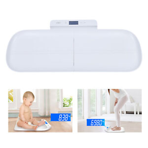 200lb Digital Body Weight Scale Detachable LCD Baby Scale Pet Dog Cat Scale USB