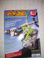 MAGAZINE MX MAGAZINE N°1 ANNEE 1998