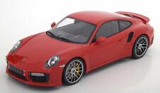 PORSCHE 911 991 II TURBO S COUPE 2016 RED MINICHAMPS 110067122 1/18 504 PCS