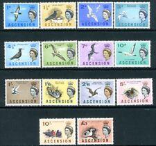 ASCENSION-1963 Birds Set to £1 Sg 70-83 UNMOUNTED MINT V18986