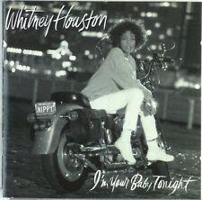 CD-Whitney Houston-I 'm Your Baby Tonight-a5318-booklett