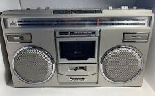 Vintage Panasonic RX-5100 AM-FM Stereo Cassette Recorder Boombox