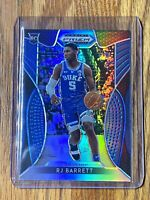 #14 RJ Barrett 2019-20 Panini Blue Silver Prizm Draft Picks Rookie RC Card #66🔥