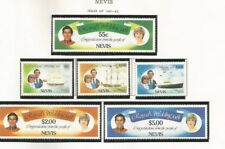 NEVIS 1981 ROYALTY SCOTT 135-40 MNH