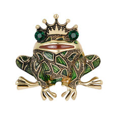 Collar Pin Party Jewelry Accessory Creative Women Animal Frog Alloy Brooch