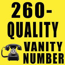 Vanity Phone Number (260) 782-5489 260-QUALITY Indiana