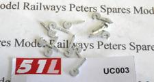 51L UC003 Dummy Coupling Hooks (Pk12) OO Gauge