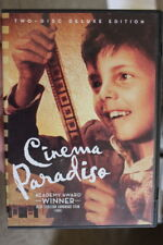 Cinema Paradiso Two-Disc Deluxe Edition Rare Oop Deleted Dvd Box Set 2 Disc R1