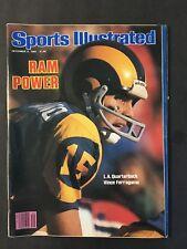 Sports Illustrated Magazine December 8 1980 Vince Ferragamo LA Rams NM NL