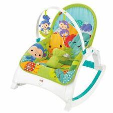 Fisher-Price - Portable Rocker - Newborn to Toddler - Rainforest Friends