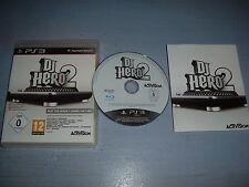 DJ HERO 2 PLAYSTATION 3 PS3 COMPLET (envoi suivi)