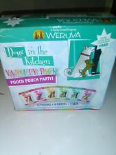 Weruva Dogs In The Kitchen, Variety Pack, Pooch Pouch Party!, Wet Dog Food, 2.8