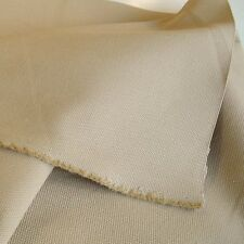 sand beige Polsterstoff reine Baumwolle Meterware Canvas Segeltuch Möbel Tolko