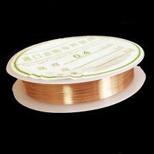 Schmuckdraht Modellierdraht aus Kupfer 0,4mm /10m Farbe Kupfer nenad-design R191