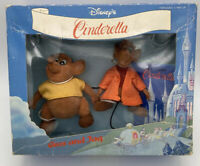 Vintage Bikin Express Disney Cinderella Gus And Jaq Mice Figures Play Set Rare