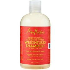 Shea Moisture Fruit Fusion Coconut Water Weightless Shampoo 13 fl oz Exp 1/18