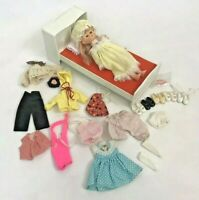 Vintage Vogue Ginny Doll Clothes Bed Shoes Accessories 1970's