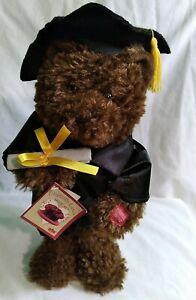 Chantilly Lane Plush Dancing Graduation Bear Singing I Feel Good by James Brown