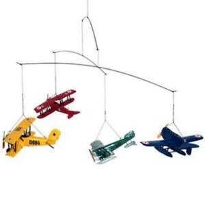 Airplane Kids Mobile Authentic Models New in Box Hanging Mobiles