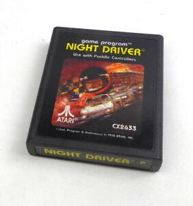 Atari 2600 Spiel -- NIGHT DRIVER (PAL) picture label -- Atari VCS -