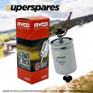Ryco Fuel Filter for Holden Rodeo TFR TFS 2 17 25 Petrol 4Cyl 2.2 2.6 3.2L