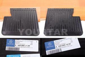 Genuine Mud Apron Flaps R+L for MERCEDES BENZ W463 G300 G320 G500 G55 AMG 90-08