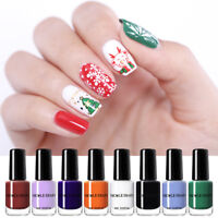 NICOLE DIARY 6ml Peel Off Nail Polish Water-based Basic Series Nail Art Varnish