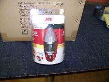 ACE 4 Watt Dimmable Type E12 Bulb 32 ea. 7781131 New