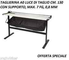 TAGLIERINA LAMA ROTANTE A0 LUCE TAGLIO CM 130 RIFILATRICE PLOTTER HP